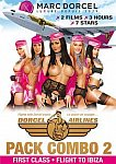 Dorcel Airlines Pack Combo 2: First Class Flight To Ibiza from studio Marc Dorcel