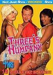 Three's Humpany featuring pornstar Amber Michaels